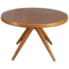 Round Dining Table by David Rosen for Nordiska Kompaniet