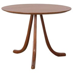 Three-Legged Side Table in Mahogany by Josef Frank, circa 1940