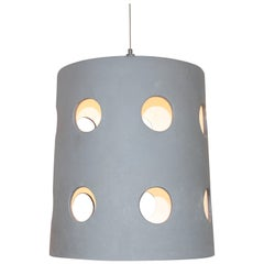 Cylinder Pendant with Circle Cut-Outs Designed by Brendan Bass