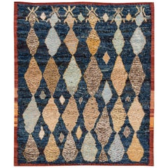 21st Century Modern Moroccan Style Indian Rug