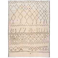 21st Century Modern Moroccan Style Rug