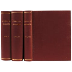 Genuine Works of William Hogarth in Three Volumes