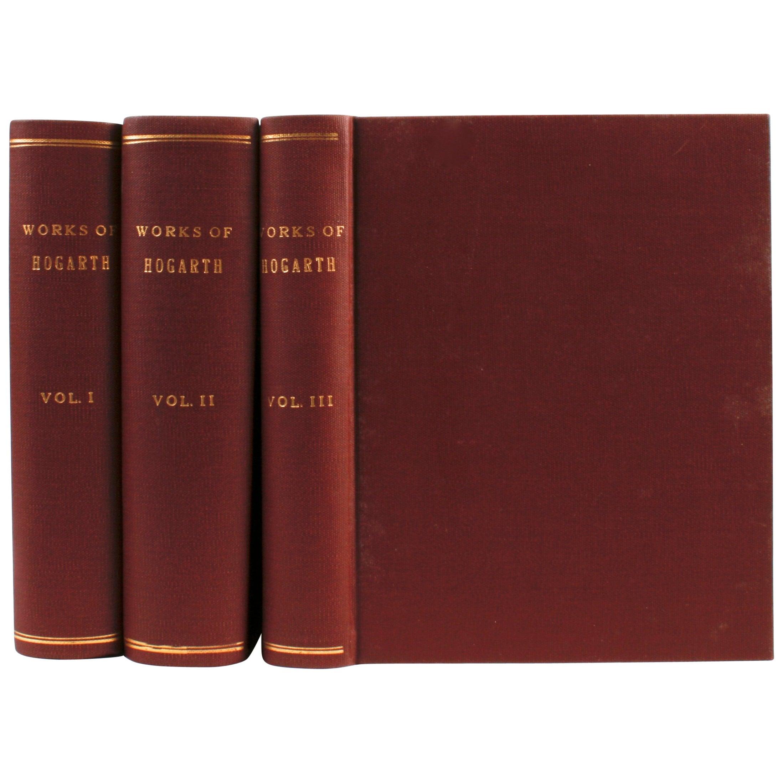Genuine Works of William Hogarth in Three Volumes