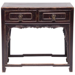 Chinese Two-Drawer Table