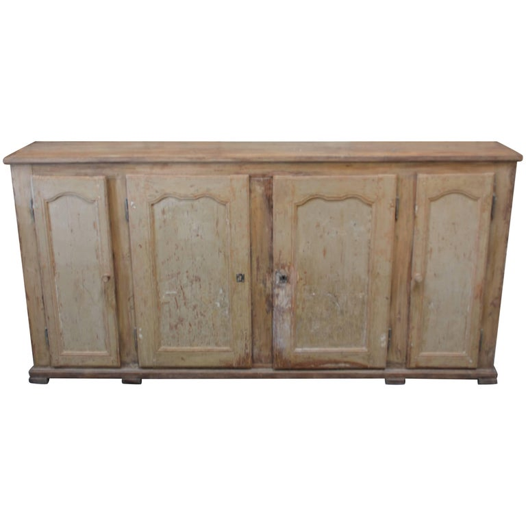 19th Century French Painted Enfilade For Sale