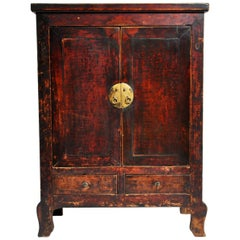 Chinese Cabinet with Two Drawers