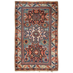Late 19th Century Antique Caucasian Shirvan Rug