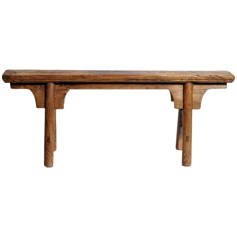 Qing Dynasty Chinese Bench At 1stdibs