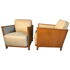 Pair of Art Deco Chairs D375