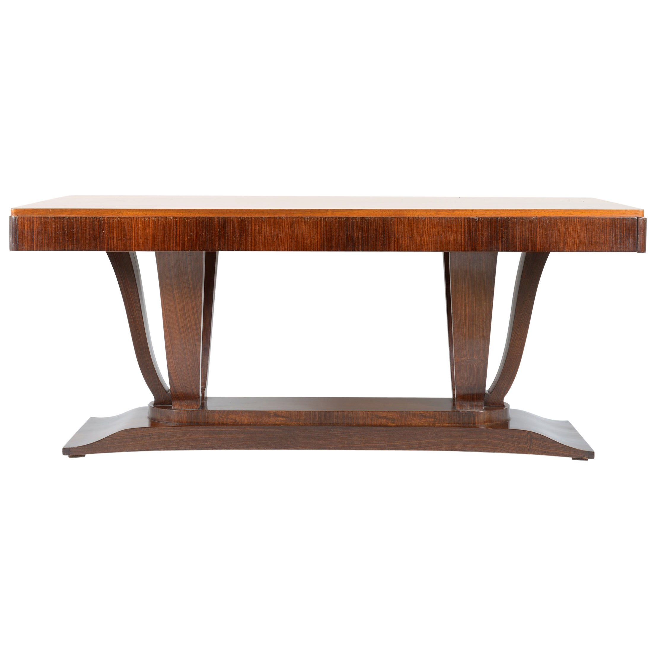 Art Deco Extendable Dining Table