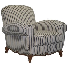 Ralph Lauren Marseilles Club Armchair over Sized Handmade Lovely Find