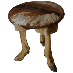 1960s Deer Stool from France