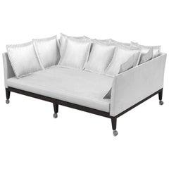 """Neoz"" Castored Deep Three-Seat Sofa Designed by Philippe Starck for Driade"