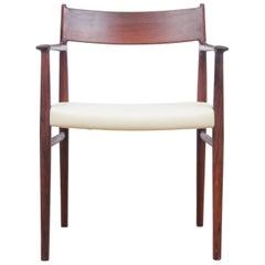 Mid-Century Modern Armchair by Arne Vodder in Rosewood Model 418B