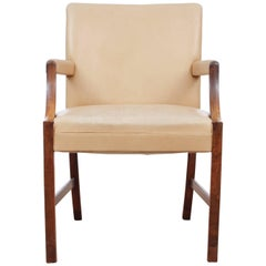 Mid-Century Modern Armchair by Ole Wanscher in Rosewood