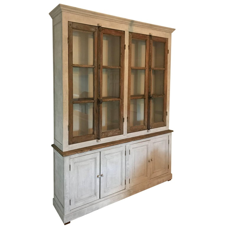 Large French Cabinet or Bookcase