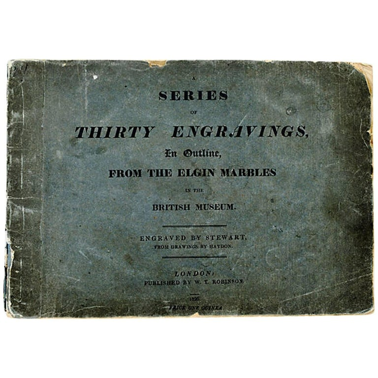 Elgin Marble Engravings, First Edition