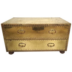 Brass Campaign Chest