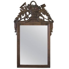 Early 20th Century Carved French Country Style Mirror