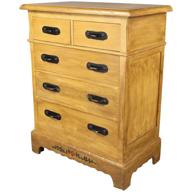 Antique Signed Monterey High Boy Dresser Circa 1930s For