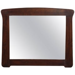 Antique Arts & Crafts Oak Mirror, circa 1920