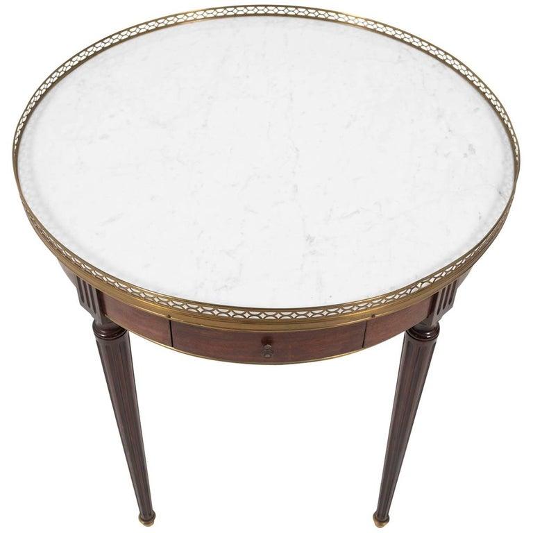 French Louis XVI Style Bouillote Table, circa 1930