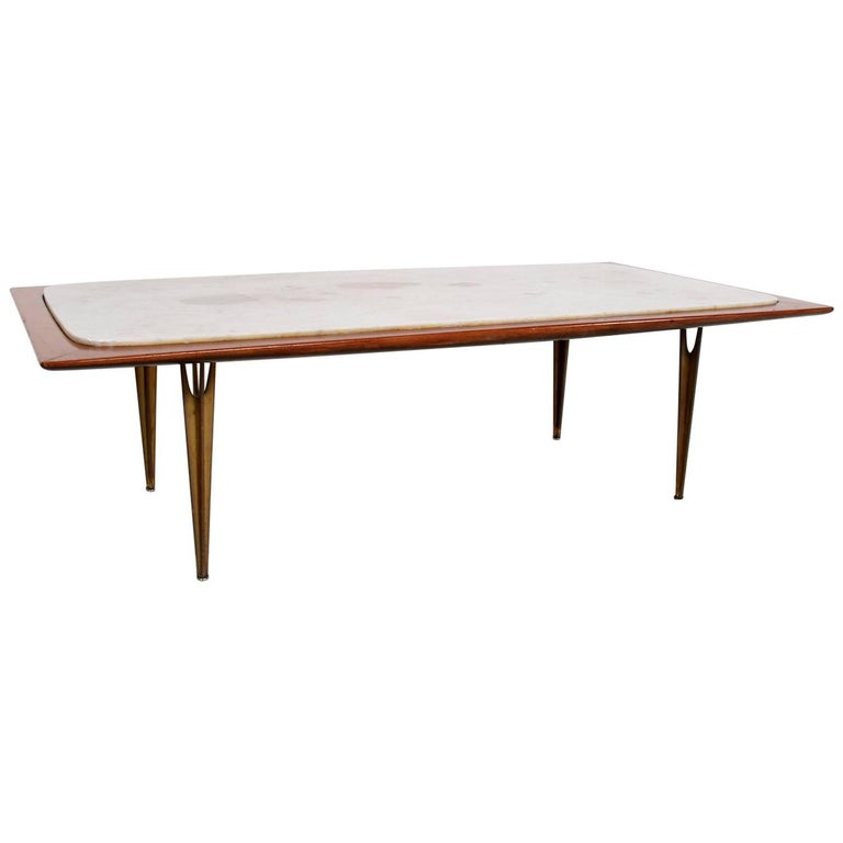 Mexican Midcentury Modernist Coffee Table, circa 1950s