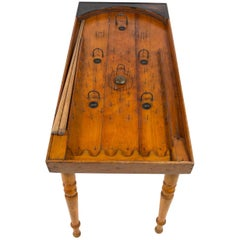 French Bagatelle Table Early 20th Century