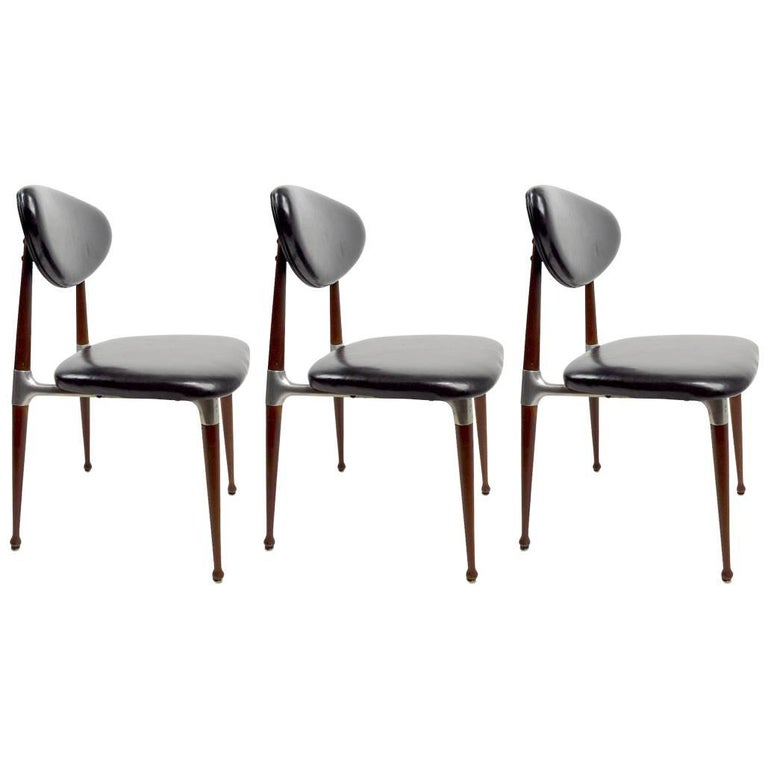 Three Dan Johnson for Shelby Williams Crucible Chairs