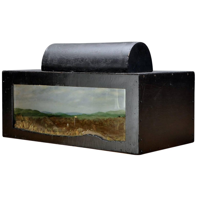 Fort Devens and Surrounding Countryside Illuminating Diorama Scale Model