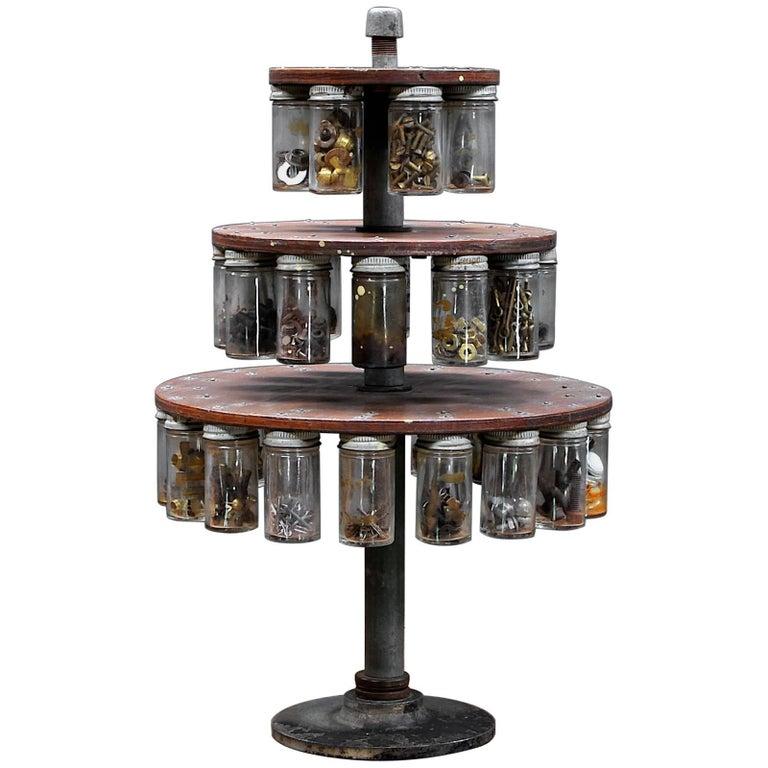 Old American Craftsmans Workshop Odds and Ends Hardware Carousel Tree