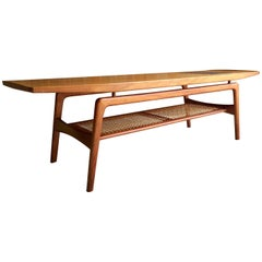 Arne Hovmand-Olsen for Mogens Kold Møbelfabrik Teak Coffee Table, Danish, 1950s