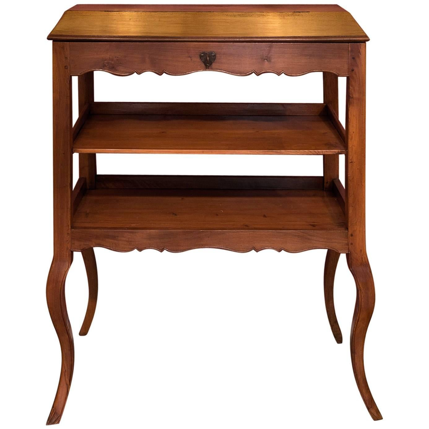 Mid 18th Century Provencal Notarial Office Furniture In Solid Walnut, Circa  1750 For Sale