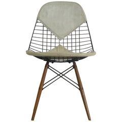 Eames Vintage Dowel Leg Chair, 1950s DKW-2