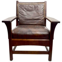 Mission Armchair by L JG Stickley