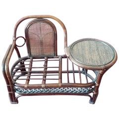 20th Century Italian brown Baby Wicker Chair
