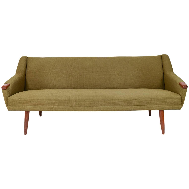 Danish Mid Century Three Seat Model Congo Sofa By Erhardsen U0026 Andersen 1
