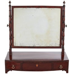 Georgian Mahogany Ladies Dressing Table Mirror