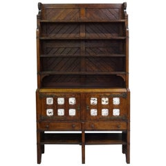 Charles Locke Eastlake Gothic Revival Aesthetic Movement Dresser Cabinet