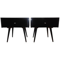 Pair of Paul McCobb Planner Group Cube End Tables or Nightstands
