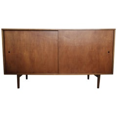 Paul McCobb Planner Group Credenza Sideboard with Walnut Finish