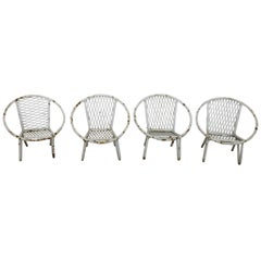 Salterini Style Salesman Sample Patio Furniture Radar Chair
