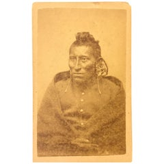 Early Indian Scout Photograph Pawnee
