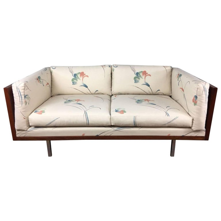 Rosewood Low Back Loveseat By Komfort For Sale At 1stdibs