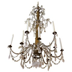 Late 18th-Early 19th Century Colossal Genovese Chandelier