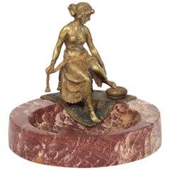 Rare 'Namgreb' Vienna Bronze by Franz Bergmann
