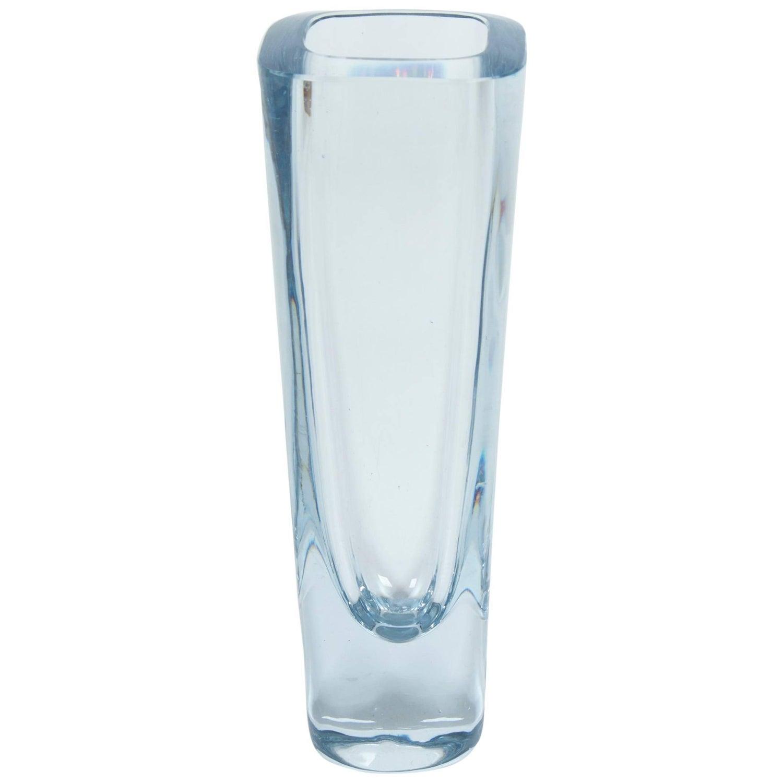 Swedish art glass crystal vase by strombergshyttan for sale at 1stdibs blue glass vase by strombergshyttan sweden circa 1960 1980 reviewsmspy