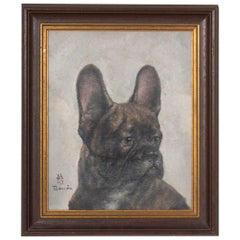 Toshio Bando, The Black Bulldog Painting
