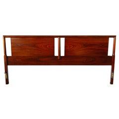 Mid-Century Modern Walnut King Headboard by Widdicomb Furniture Co.