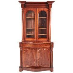 Quality Victorian Mahogany Bookcase